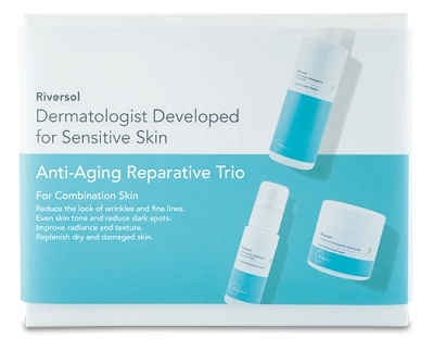 anti-aging trio for combination skin