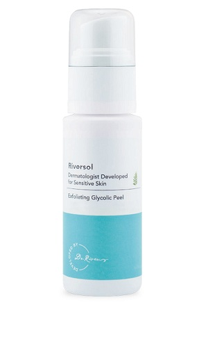 exfoliating glycolic peel product
