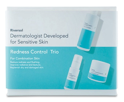 redness control trio for combination skin