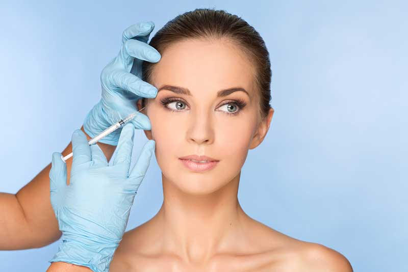 Botox and dermal fillers help reduce fine lines and wrinkles.