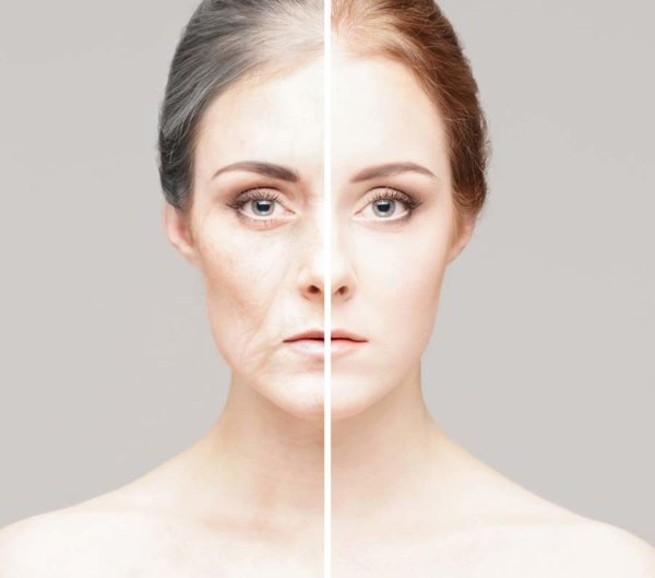 The aging process can change our skin in many ways.