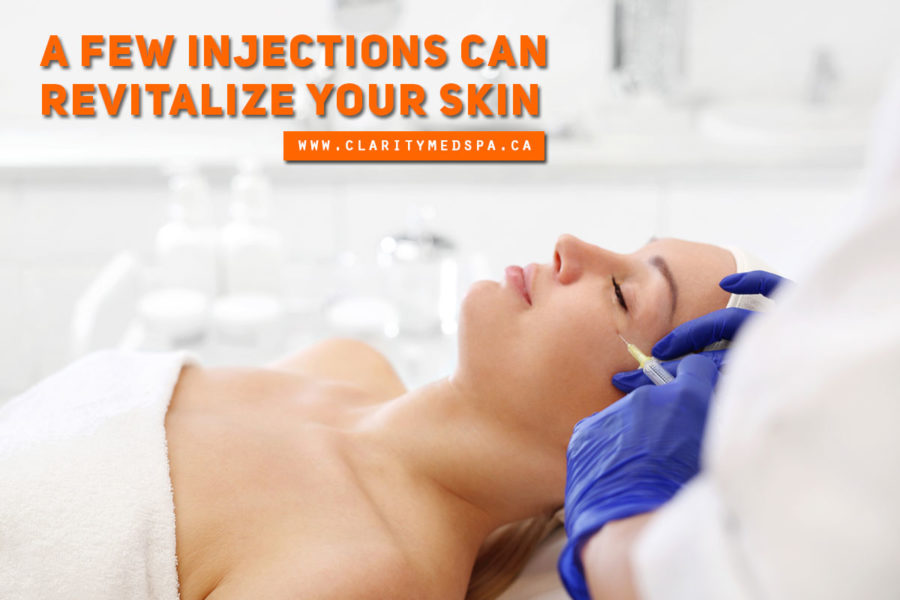 A few injections can revitalize your skin