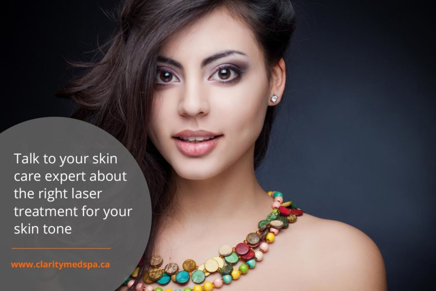 talk to skin care expert